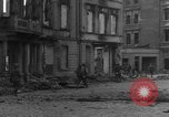 Image of street fighting Koblenz Germany, 1945, second 5 stock footage video 65675056145