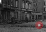 Image of street fighting Koblenz Germany, 1945, second 7 stock footage video 65675056145