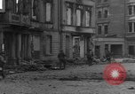 Image of street fighting Koblenz Germany, 1945, second 9 stock footage video 65675056145