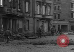 Image of street fighting Koblenz Germany, 1945, second 10 stock footage video 65675056145