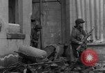 Image of street fighting Koblenz Germany, 1945, second 4 stock footage video 65675056146