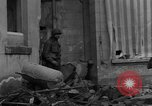 Image of street fighting Koblenz Germany, 1945, second 6 stock footage video 65675056146