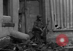 Image of street fighting Koblenz Germany, 1945, second 11 stock footage video 65675056146