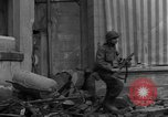 Image of street fighting Koblenz Germany, 1945, second 12 stock footage video 65675056146