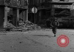 Image of street fighting Koblenz Germany, 1945, second 7 stock footage video 65675056147