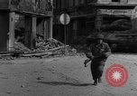 Image of street fighting Koblenz Germany, 1945, second 8 stock footage video 65675056147