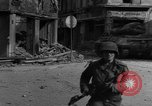 Image of street fighting Koblenz Germany, 1945, second 9 stock footage video 65675056147