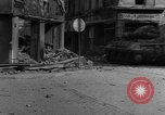 Image of street fighting Koblenz Germany, 1945, second 12 stock footage video 65675056147