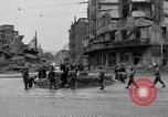 Image of barricade Stuttgart Germany, 1945, second 2 stock footage video 65675056150