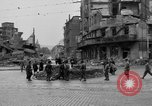 Image of barricade Stuttgart Germany, 1945, second 3 stock footage video 65675056150