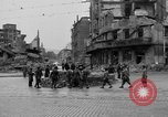 Image of barricade Stuttgart Germany, 1945, second 4 stock footage video 65675056150