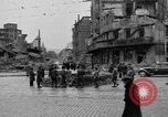 Image of barricade Stuttgart Germany, 1945, second 5 stock footage video 65675056150
