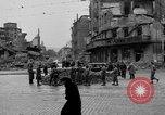 Image of barricade Stuttgart Germany, 1945, second 6 stock footage video 65675056150