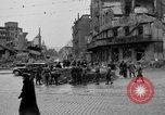 Image of barricade Stuttgart Germany, 1945, second 7 stock footage video 65675056150