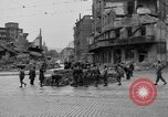 Image of barricade Stuttgart Germany, 1945, second 9 stock footage video 65675056150
