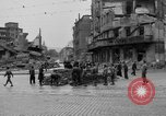 Image of barricade Stuttgart Germany, 1945, second 10 stock footage video 65675056150