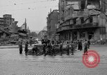 Image of barricade Stuttgart Germany, 1945, second 11 stock footage video 65675056150