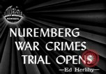 Image of war crime trials Nuremberg Germany, 1945, second 3 stock footage video 65675056154