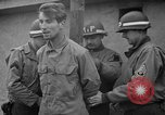 Image of German spies apprehended in US uniforms are executed by firing squad Bruchsal Germany, 1945, second 17 stock footage video 65675056155