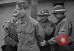 Image of German spies apprehended in US uniforms are executed by firing squad Bruchsal Germany, 1945, second 18 stock footage video 65675056155