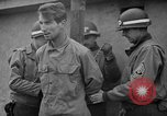 Image of German spies apprehended in US uniforms are executed by firing squad Bruchsal Germany, 1945, second 19 stock footage video 65675056155