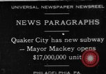 Image of Harry Arista Mackey Quaker City Pennsylvania USA, 1930, second 1 stock footage video 65675056179