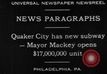 Image of Harry Arista Mackey Quaker City Pennsylvania USA, 1930, second 2 stock footage video 65675056179
