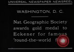 Image of Hugo Eckener Washington DC, 1930, second 3 stock footage video 65675056180