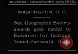 Image of Hugo Eckener Washington DC, 1930, second 6 stock footage video 65675056180