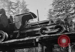 Image of wooden track Aberdeen Washington USA, 1930, second 12 stock footage video 65675056181