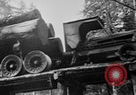 Image of wooden track Aberdeen Washington, 1930, second 13 stock footage video 65675056181
