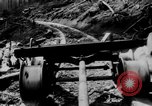 Image of wooden track Aberdeen Washington, 1930, second 18 stock footage video 65675056181