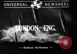 Image of burning buildings during London blitz London England United Kingdom, 1941, second 6 stock footage video 65675056185