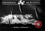 Image of burning buildings during London blitz London England United Kingdom, 1941, second 7 stock footage video 65675056185