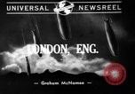 Image of burning buildings during London blitz London England United Kingdom, 1941, second 8 stock footage video 65675056185