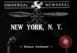 Image of Manhattan firemen New York United States USA, 1941, second 2 stock footage video 65675056186