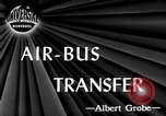 Image of air bus service Detroit Michigan USA, 1946, second 1 stock footage video 65675056211