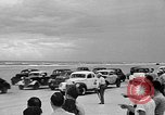 Image of stock car race Daytona Beach Florida USA, 1946, second 5 stock footage video 65675056215