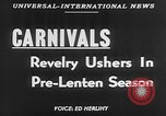 Image of carnival celebration Europe, 1952, second 6 stock footage video 65675056217