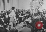 Image of sportswear fashion show United Kingdom, 1952, second 8 stock footage video 65675056218