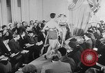 Image of sportswear fashion show United Kingdom, 1952, second 10 stock footage video 65675056218
