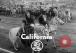 Image of rodeo competition Palm Springs California USA, 1952, second 8 stock footage video 65675056219