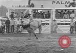 Image of rodeo competition Palm Springs California USA, 1952, second 10 stock footage video 65675056219
