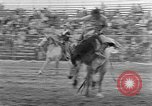 Image of rodeo competition Palm Springs California USA, 1952, second 12 stock footage video 65675056219