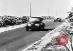 Image of stock car race Daytona Beach Florida USA, 1952, second 7 stock footage video 65675056220