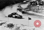 Image of stock car race Daytona Beach Florida USA, 1952, second 10 stock footage video 65675056220