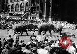 Image of circus show New York City USA, 1957, second 4 stock footage video 65675056223