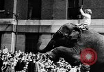 Image of circus show New York City USA, 1957, second 12 stock footage video 65675056223