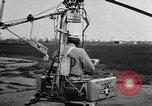 Image of demonstration of Pinwheel portable helicopter California United States USA, 1957, second 5 stock footage video 65675056224