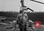 Image of demonstration of Pinwheel portable helicopter California United States USA, 1957, second 6 stock footage video 65675056224